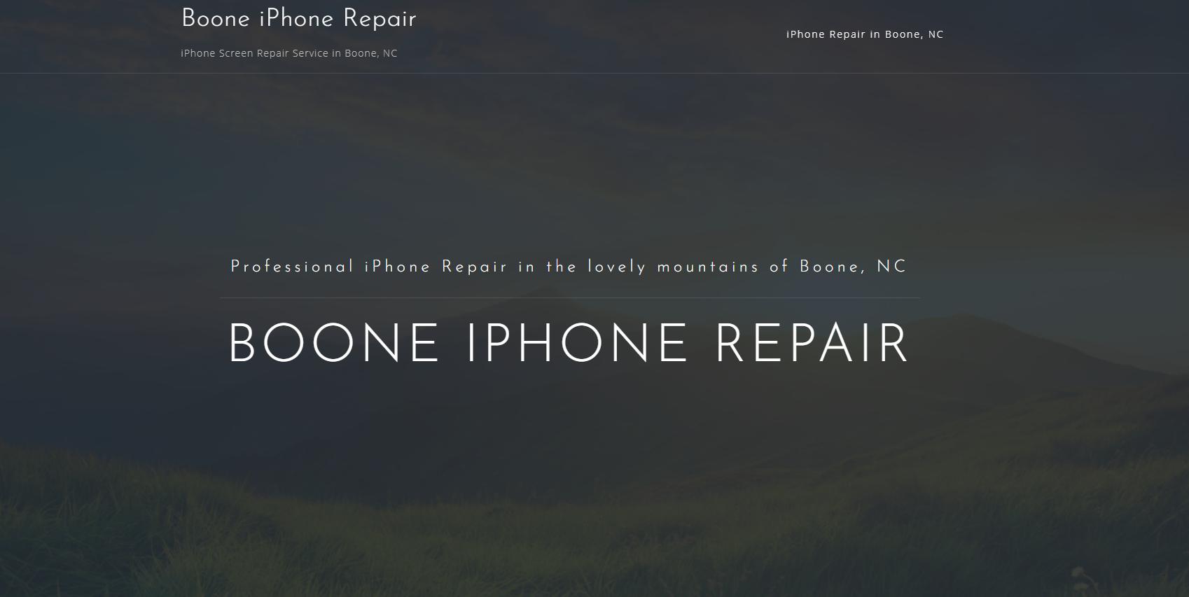 Boone iphone repair