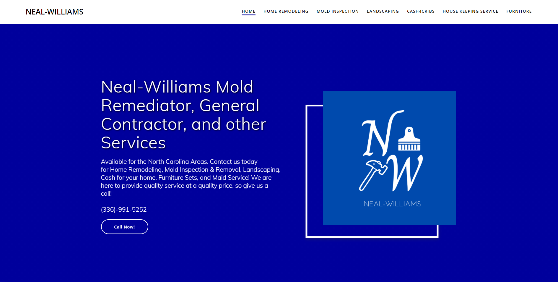 Neal Williams Mold Removal and general contractor